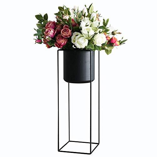 GJX-Blumenständer Blumenregal Metall Blumenständer Innen Balkon Bodenständig Gartenregal Draussen Pflanzenregal