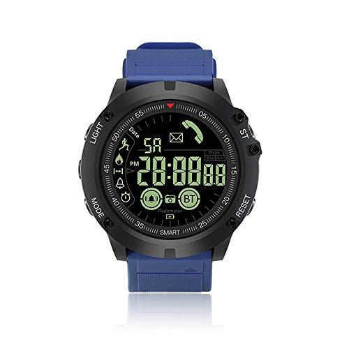 QYLJX Smart Watch Fitness Tracker, Reloj Deportivo Táctico Impermeable Grado Militar Reloj Podómetro...