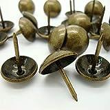 Lyanther 100 UNID Bronce Antiguo de Bronce Tapicería Nail Jewelry Gift Vinoteca Caja Sofá Decoración para
