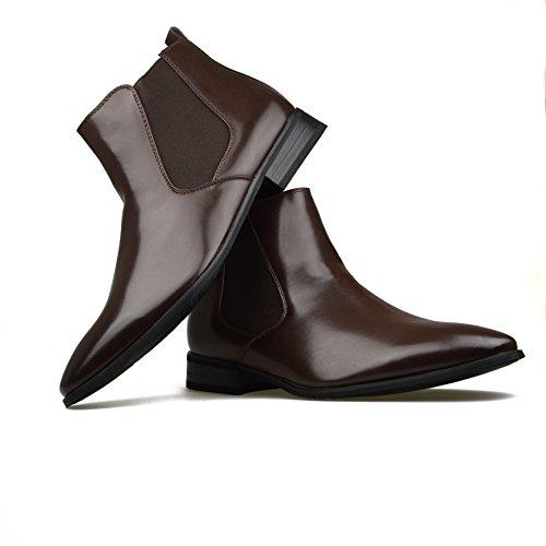 Robelli ,  Unisex Erwachsene Herren Jungen Chelsea Boots Marrón - marrón