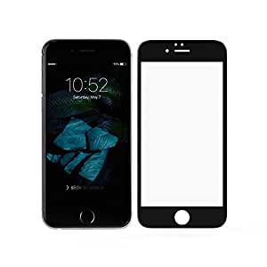 RKMOBILES Apple iPhone 6 or Apple iPhone 6s Tempered Glass Screen Guard Protector For Apple Iphone 6 or 6s 3D FULLCOVER - Mobile Accessories / Screen Protectors [BLACK] (For Apple iPhone 6s)