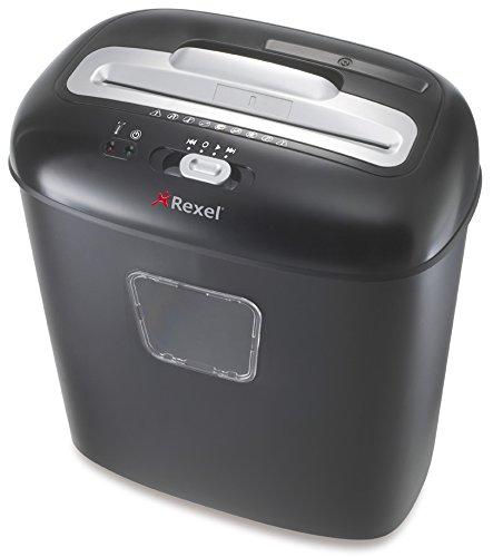 Rexel Duo - Destructora de papel (10 hojas, 17 litros),...