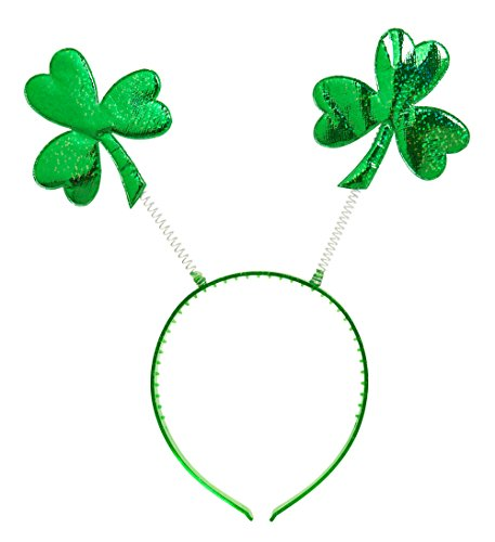 Widmann 1157E - Saint Patricks Day Stirnreif, (Motto Kostüme Dress Fancy Englisch)