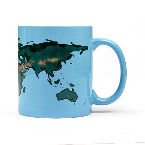 Thumbs Up glowrmug die Tasse Globale Erwärmung, Keramik, Blau, 11x 9x 8cm (Die Globale Transformation)