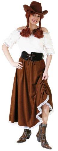 Karneval Kostüm Cowgirl Damen - Orlob Cowgirl Bluse weiß Western Damen