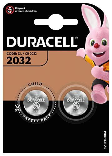 Duracell 2032 - Pila de botón de litio 3V, diseñada para...