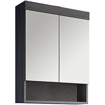 GOA 3550 Bad Spiegel, Holz, 12 x 67 x 78 cm, bunt: Amazon.de ... | {Spiegelschrank bad holz 63}