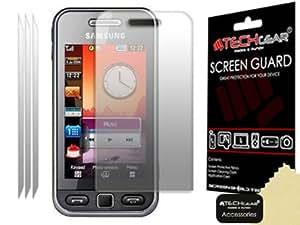 **PACK OF 3** - SAMSUNG S5230 Tocco Lite / SAMSUNG STAR (GT-S5230, S5233) INVISIBLE Screen Protectors - Hi-TEC ESSENTIALS