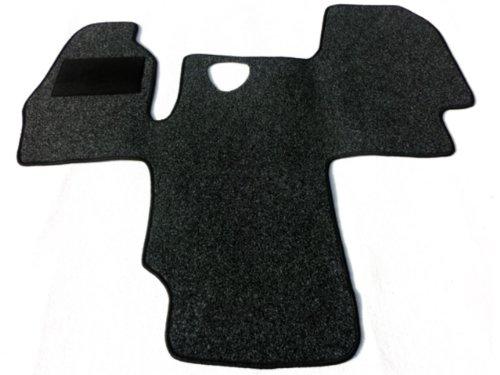 Preisvergleich Produktbild Alpha-Tex 2-6742-029-21 Fußmatten Fahrerhaus Teppich 1-teilig - Anthrazit oder Schwarz (Anthrazit)