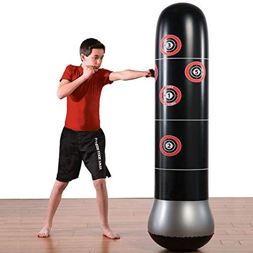 Big seller Schwerkrafttrainer Aufblasbare Boxing MMA Boxsack Freistehende Trommel Entlüftungsspielzeuge Mit Luftpumpe