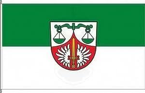 Königsbanner Kleinflagge Mihla - 40 x 60cm - Flagge und Fahne
