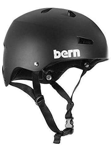Bern Macon Casque de Vélo Homme, Summer Matte Black, Taille