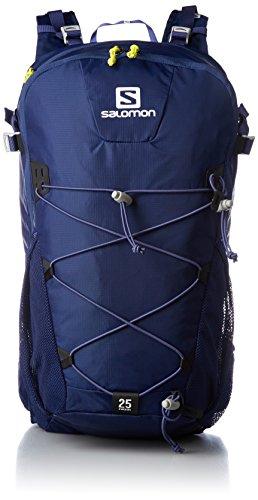 Salomon Mini-Ripstop 210D Mochila, Unisex Adulto, Azul (Medieval Blue), Talla Única