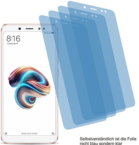 4x ANTIREFLEX matt Schutzfolie für Xiaomi Redmi Note 5 Pro Displayschutzfolie Bildschirmschutzfolie Schutzhülle Displayschutz Displayfolie Folie