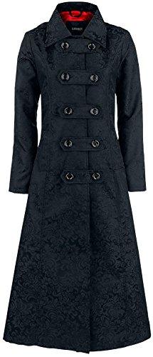 Gothicana by EMP Comtesse Vampire Coat Cappotto donna nero XL