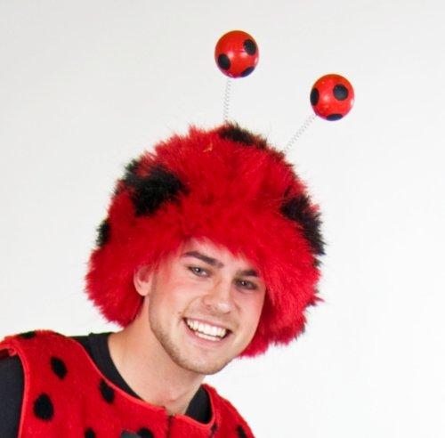 Festartikel Müller Karneval Zubehör Perücke Marienkäfer zum Tier -