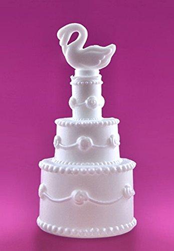 Seifenblasen Torte mit Schwan, 24 Stück