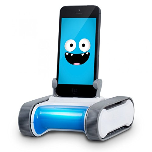 Romo ROMO5 - Robot mascota para Apple iPhone 5/5C/5S, blanco