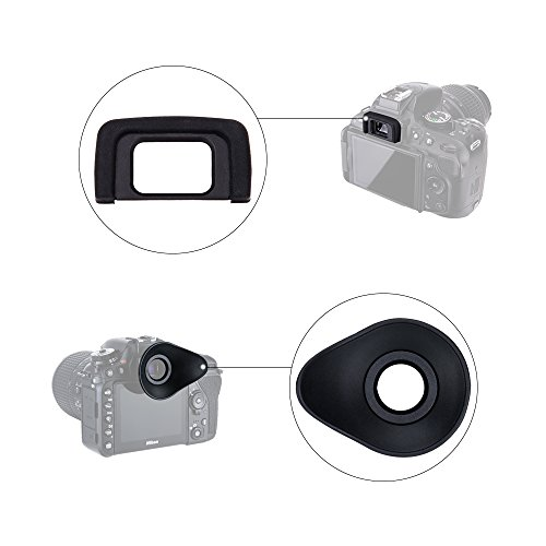 Zoom IMG-2 jjc oculare 2 pezzi gomma