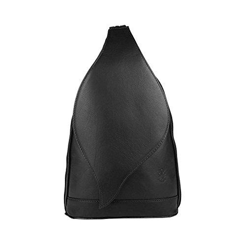 OBC Only-Beautiful-Couture, Borsa a zainetto donna rosso rosso/nero ca.: 22x36x10 cm (BxHxT) nero