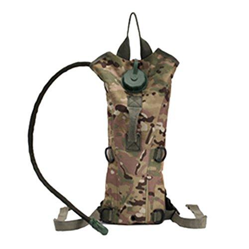 WanYang Hohe Qualität Camouflage Trinkrucksack Wasser Rucksack Wasser Blase Taschen für Fahrrad Wandern Klettern Camping Tarnung B