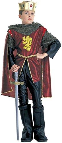 Königliches Ritter-Kostüm für Jungen 128/140 (8-10 (Kostüm Deutsche Junge)