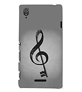 Sign Key Hard Polycarbonate Designer Back Case Cover for Sony Xperia T3