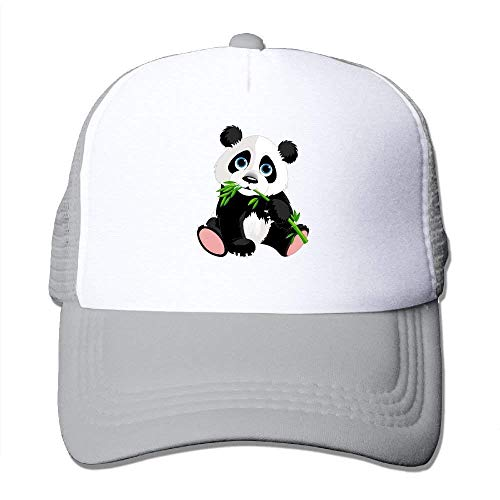 deyhfef Panda Eat Bamboo Adjustable Sports Mesh Baseball Kappen Trucker Cap Sun Hüte ()