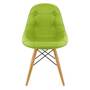 Rembourrage Eames DSW Chaise Vert