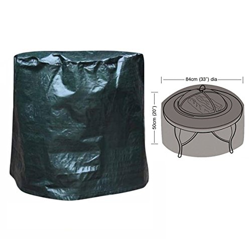 Large Fire Pit Cover Water Proof Resistant Chiminea cover Garden Patio Outdoor (Firepit Cover)