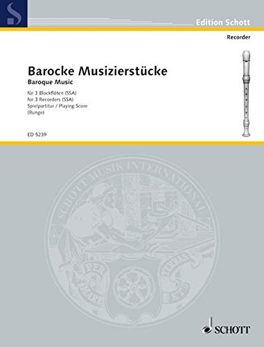 Barocke Musizierstucke