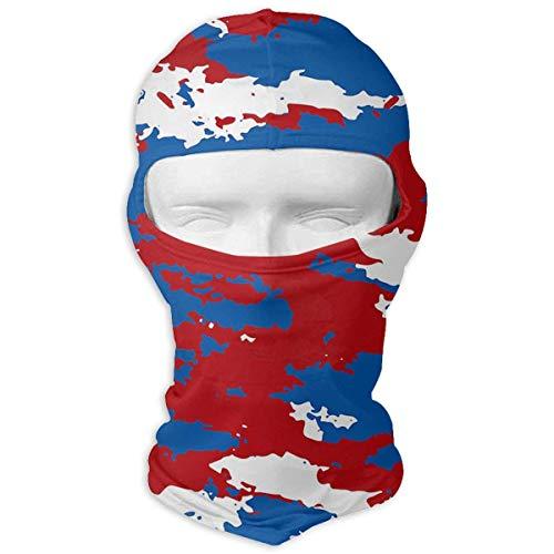 Voxpkrs Outdoor-Sport-Gesichtsmasken Blue Camo Party Supplies Rote Sturmhaube Skullies