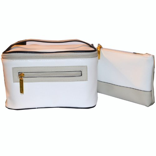 estee-lauder-luxury-white-faux-leather-make-up-case-and-cosmetic-pouch-set