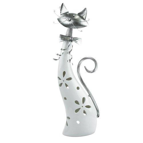 Silex Katze Terracotta