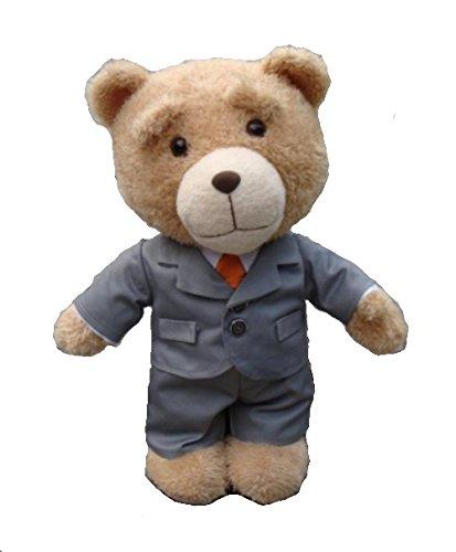 T623 TED Plüsch Stofftier Teddy Bär aus dem Film 60cm mit Anzug (Ted Teddy Stofftier Bär)