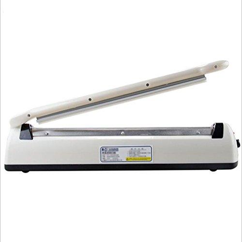 Bvc Impuls Schweißgerät - 3 mm Impuls Sealer Folienschweißgerät Für Plastiktüten/Kunststoffbeutel, Weiß (54 * 8,5 cm) (Modell Farbe Sealer)