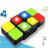 Fidget Cubes Zauberwürfel mit Musik und LED, Original Rubik's Cube Magic Cube Speedcube Geduldspiel Knobelspiel Denksport Speed Puzzle Magic Cube Dekompression Spielzeug für Kinder und Erwachsene