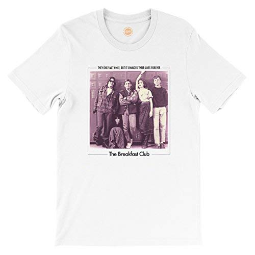 a002ff00e The Breakfast Club T-shirts | SimplyEighties.com