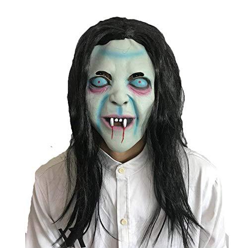 Deluxe Scorpion Maske - Halloween Maske Cosplay Kostüm Langes Haar