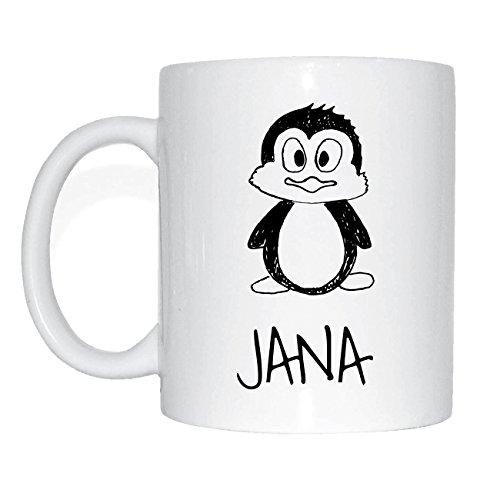 JOllipets JANA Namen Geschenk Kaffeetasse Tasse Becher Mug PM5453 15