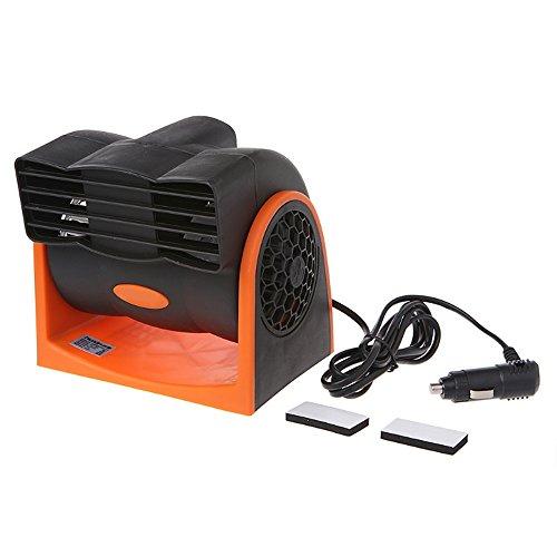 AAPP Shop Aire Acondicionado del Coche Portátil Ventilador del Ventilador del Camión del vehículo Velocidad Ajustable Refrigerador silencioso Mini Aire Acondicionado para el Coche, 24V