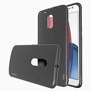 Motorola Moto G4 / G4 Plus Hülle, Profer TPU Schutzhülle Tasche Case Cover Ultradünn Kratzfest Weich Flexibel Silikon Bumper für Lenovo Moto G4 G 4th (2016) / G4 Plus