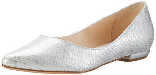 HÖGL Damen 3-10 0006 7600 Geschlossene Ballerinas, Silber (silber7600), 39 EU