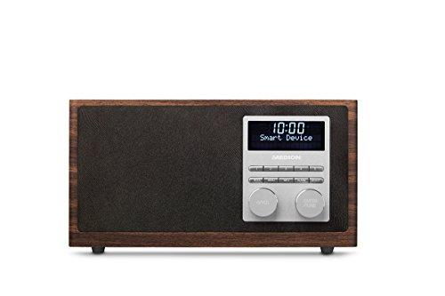 MEDION LIFE MD 80025 Digital Radio mit Bluetooth-Funktion und DAB+ (UKW, AUX Eingang, USB), braun