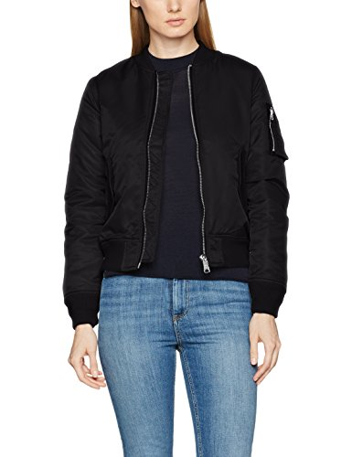 Brandit Damen Jacke Marcy Girls Bomberjacket, Schwarz (Black 2), X-Small (Gesteppte Nylon-bomber-jacke)
