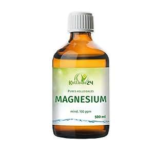 Kolloidales Magnesium 500 ml - (100 ppm ) von Kolloide24