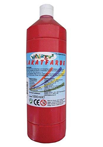 plakatfarbe-einzelflasche-rot-matte-farbe-1-liter-1000ml-temperafarbe-auf-wasserbasis-wasserloslich-