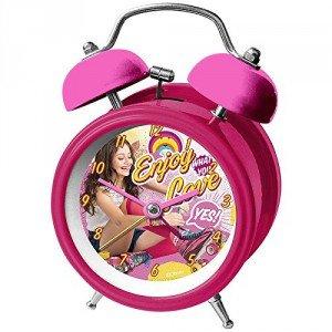 Reloj despertador Soy Luna Enjoy Love campanas metalico