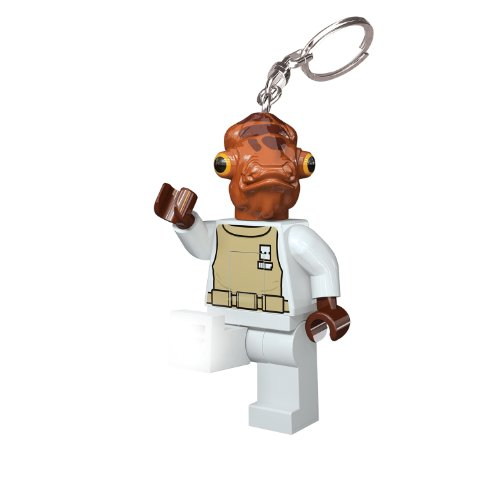 LEGO Santoki Star Wars LED Lite Key Light Keychain - Admiral Ackbar