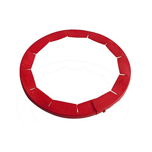 Igemy 2Stk Einstellbar Silikon Pie Crust Shield Silikon 8.5-11.5 Zoll Gerahmte Schale (Rot) Pie Crust Shield
